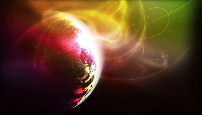 Space Cocktail Twitter Background
