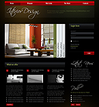 Interior Design Flash Joomla Template