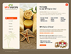 Spa Salon Flash Website