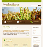 Agriculture Company Flash Joomla Template