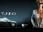 Car Tuning Flash Web Template