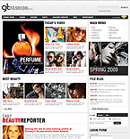 Fashion Magazine Joomla Theme