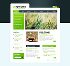 AgroScience Website Template
