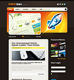 Rocket Design Joomla Theme