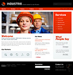 Industrix Website Template