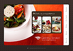 Catering Service Flash Web Template
