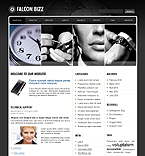 Falcon Bizz Animated WordPress Template