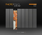 Photo Folio Flash Website