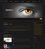 Security Company Animated WordPress Template
