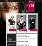 Fashion Mania Magazine Drupal Template