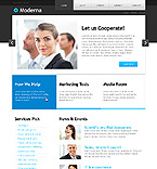 Modern Cooperation jQuery Template