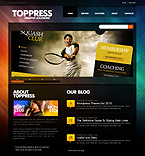 Toppress Solutions WordPress Template