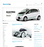 Electric Car Joomla Theme