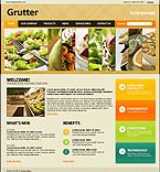 Food Broker Flash Joomla Theme