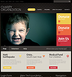 Charity Organization Flash Joomla Theme