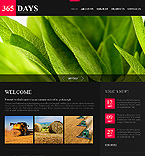 365 Days jQuery CSS Template