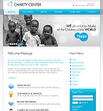 Charity Flash Animated Joomla Template