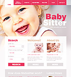 Baby Sitter CSS Web Template