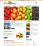 Fruit Farm CSS Website Template