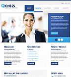 Light Business jQuery Template