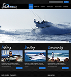 Sea Fishing Flash Joomla Template