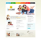 Children Care CSS Website Template