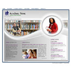 Acadamy institute flash template