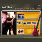 Quadrant band flash template