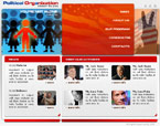 Politics html & flash template