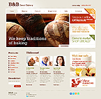 Bread Bakery Website Template