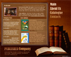 Quality books flash template