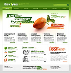 Effective Business Strategy HTML Template