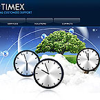 Business time PSD template