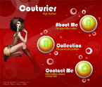 Couturier flash template