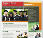 Academy html &amp; flash template