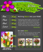 Nature within flash template
