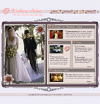 Wedding salon flash template