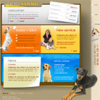 Dog kennel html template