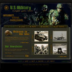 Military integrity flash template