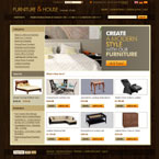 Furniture store osCommerce template