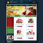 Christmas store osCommerce template