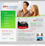 City university html template