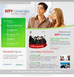 City university html template