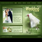 Wedding planner flash template