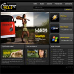 Radio station flash template