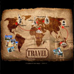 Travel company flash template
