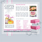 Gift boutique flash template