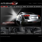 Auto dealer flash template