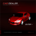 New cars dealer flash template