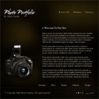 Photography studio CMS flash template